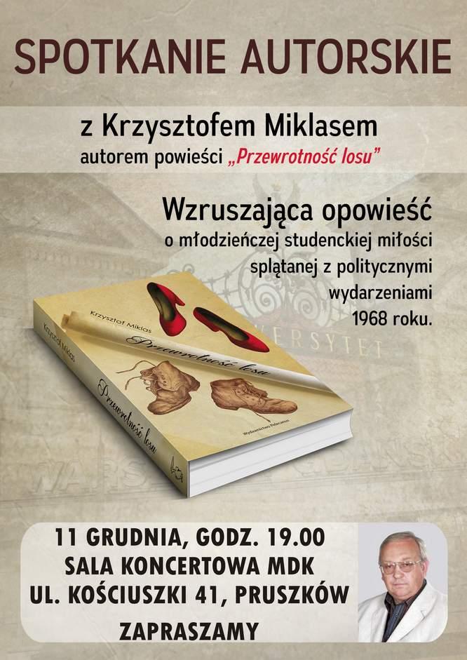 Spotkanie autorskie z Krzysztofem Miklasemwww